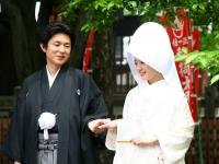 寺尾さま、辻尾さま H24.5.25 [挙式]豊国神社(京都) [会食]コムシェソワ