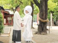 山路さま、吉川さま H24.5.20 [挙式]御霊神社